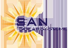 Altes Logo der SAN Solarsysteme GmbH